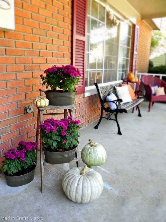 Front Porch Fall Colors for fall