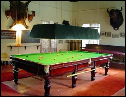 Billard Room at the High Range Club