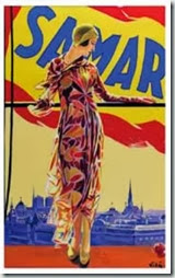 femme à la Samaritaine - emilio Vila- 1927