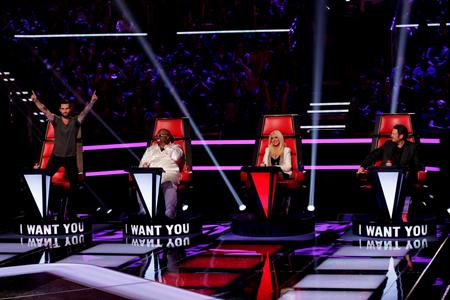 The Voice 5 judges