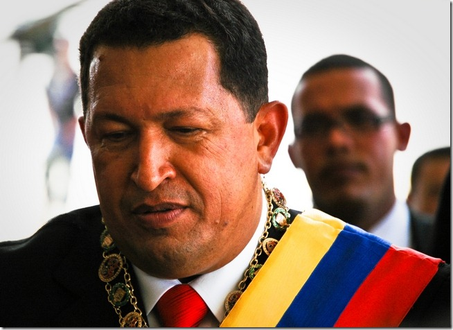Chavez Contemplating his Innauguration