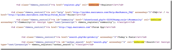 Find-NoFollow-Links-in-the-Source-Code-of-a-Web-Page