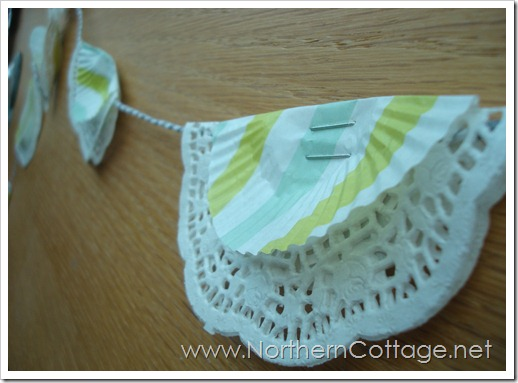 doily banner bits @NorthernCottage.net
