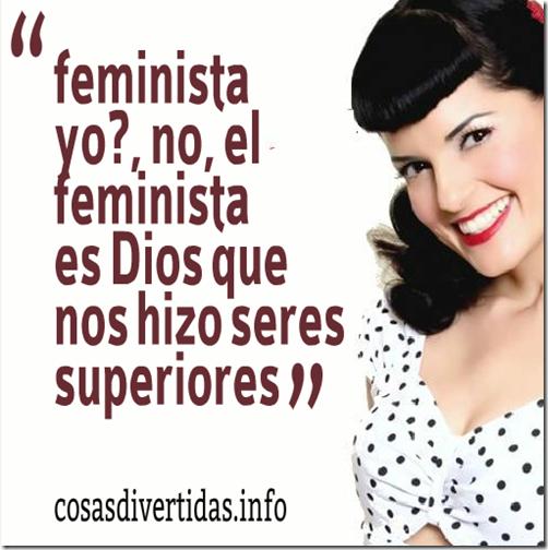 Frases feministas graciosas