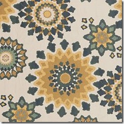 Marais peacock _ Nate Berkus fabrics