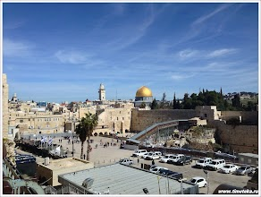 Вид на Стену Плача. Иерусалим. Израиль.www.timeteka.ru