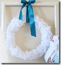 fleece wreath 1