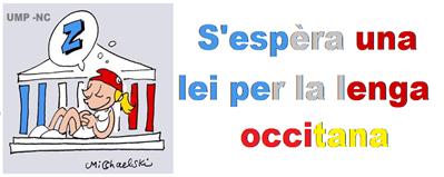 s'pesèra una lei per l'occitan