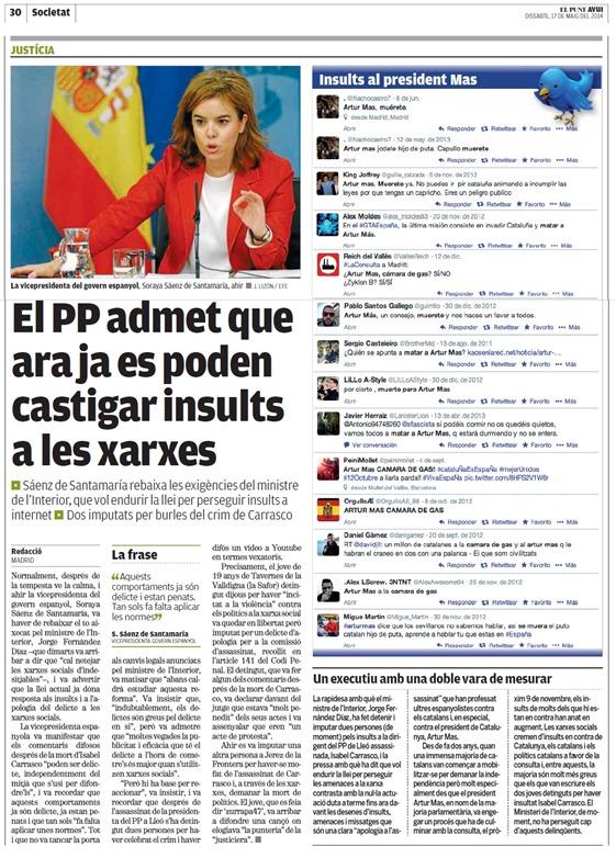 Catalunya Grands Democratas espanhòls nos fan rire.