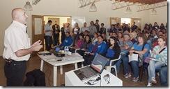 Participaron de la charla más de 180 personas