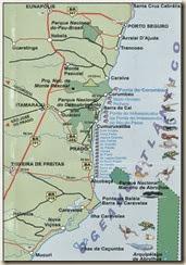 Mapa Praias