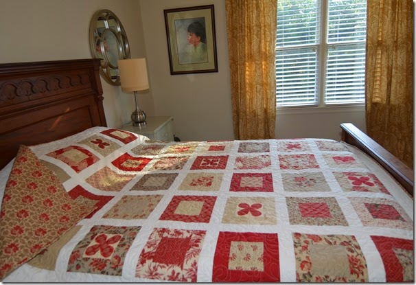 simply a bloom quilt