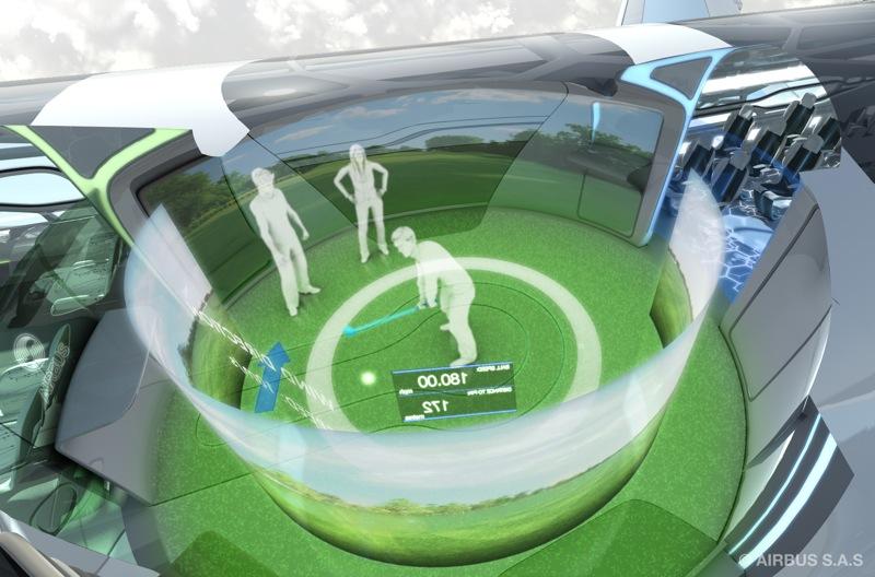 5 interaction zone golf
