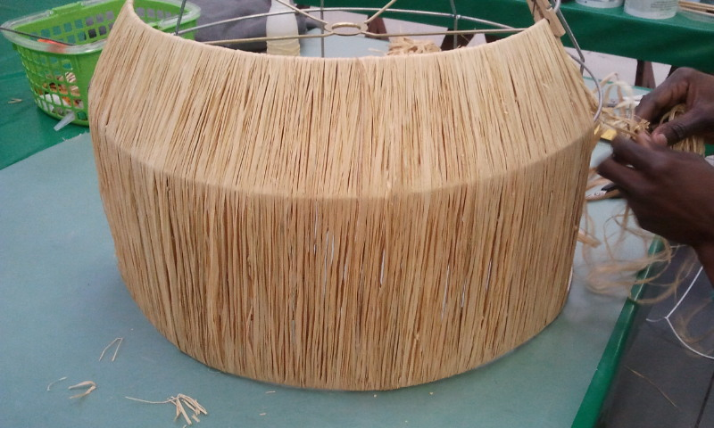 The lampshade studio i always wanted to make these pendant raffia shades they are ideal for lodges and homes near the seaside so natural looking and say good bye to mildew keyboard keysfo Choice Image