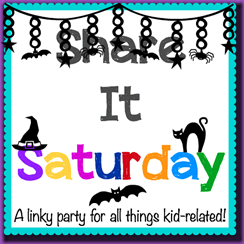 Share it Saturday- halloween