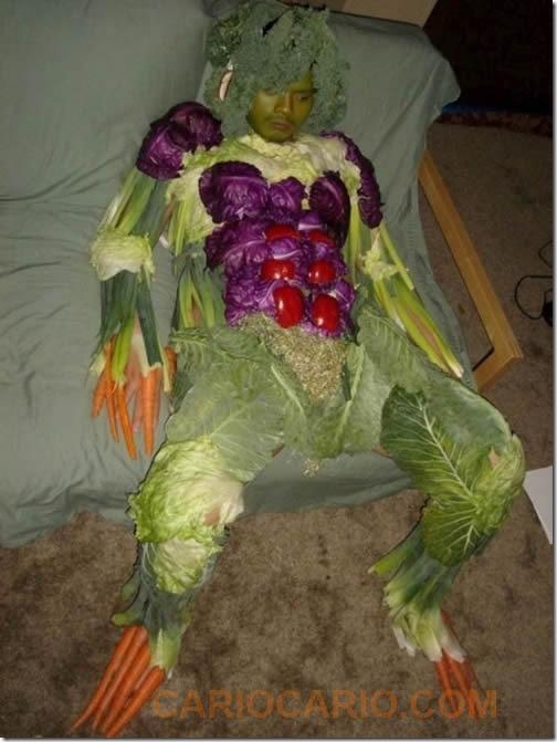 homem salada