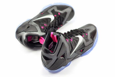 lebron11 miami nights 11 web white The Showcase: Nike LeBron XI Miami Nights Carbon