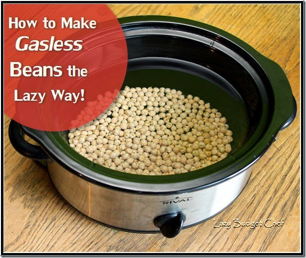 how to make gasless beans the easy way