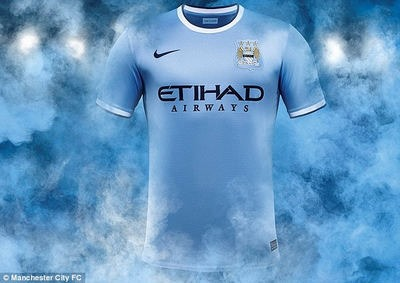 Jersey Manchester City 2013-2014