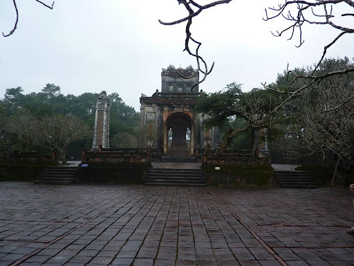 Finally the Mausoleum of Tu Doc, a romantic poet and a weak king apparently.