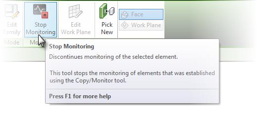 Stop Monitoring