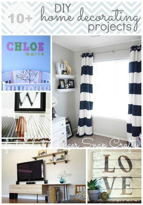 10  DIY Home Decorating Projects
