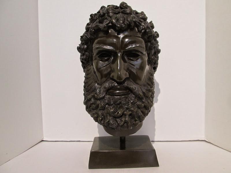 A Moreau Bronze Roman Bust