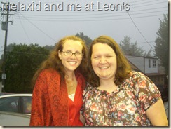 me and mel at Leon's (1)