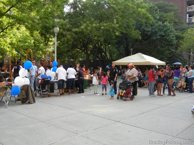 National Night Out Against Crime 2011, New York City.
