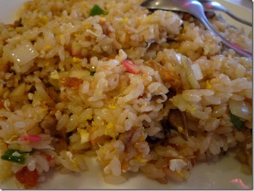 台南-金將壽司-鮭魚炒飯近拍