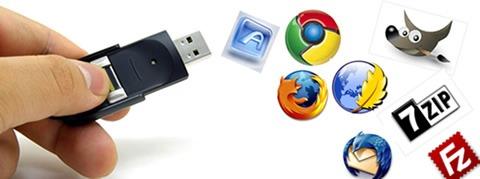 Aplicaciones portables para llevar en tu memoria USB