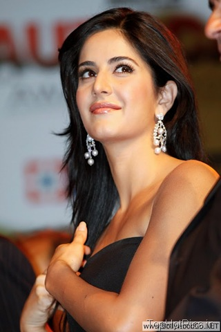 Katrina Kaif in Cute Black Dress Images 5