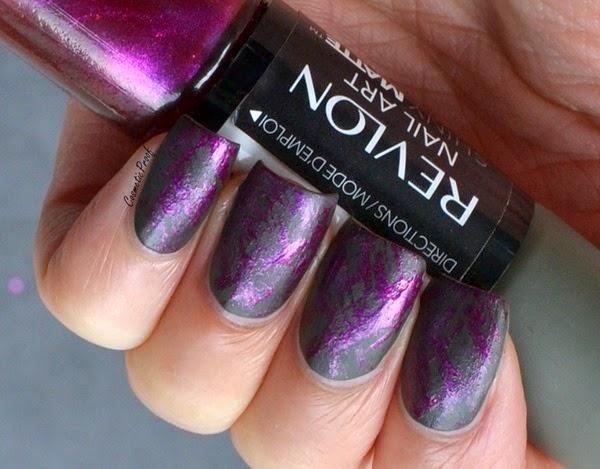 Revlon shiny matte nail art in khaki satin cosmetic proof revlonkhakisatin2 prinsesfo Images