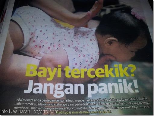 Teknik Bantuan Bayi Tercekik