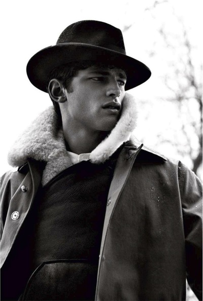 Sean O'Pry by Doug Inglish for GQ Russia, October 2011.  Styled by Ekaterina Melnikova.