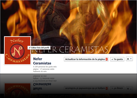 Nefer Ceramistas Facebook.