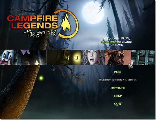 Campfire Legends - The Babysitter free full game (1)