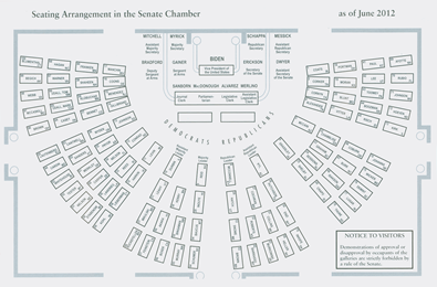 Sheva Apelbaum Senate Seating Arrangements 2012