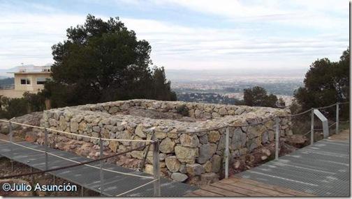 Templo del santuario ibero de la Luz - Murcia