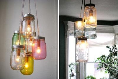 Lampor av burkar, Decor8