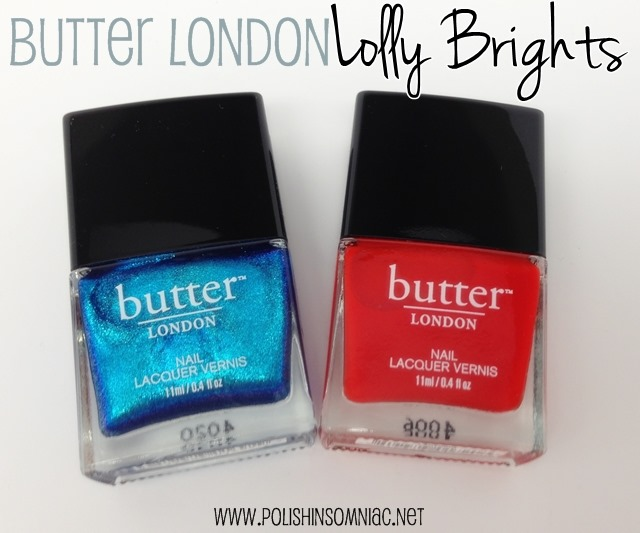 butter LONDON Lolly Brights – Airy Fairy and Ladybird