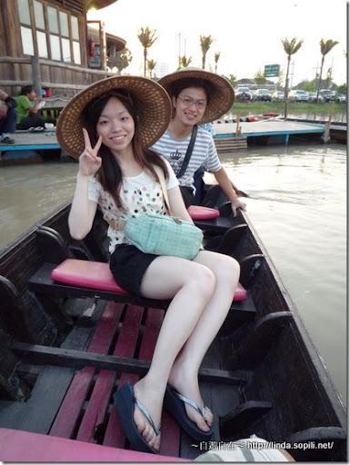 泰國芭達雅-錫攀水上市場Pattaya Floating Market 坐船