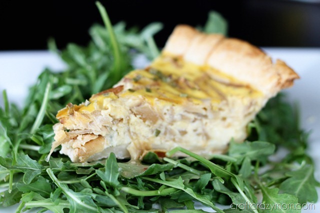Quiche Closeup