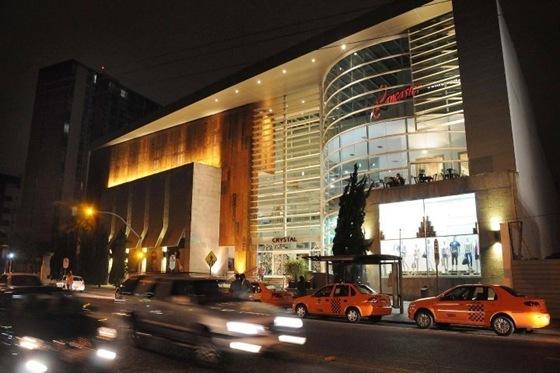 Nova Fachada Shopping Crystal | Foto: Craw Penas