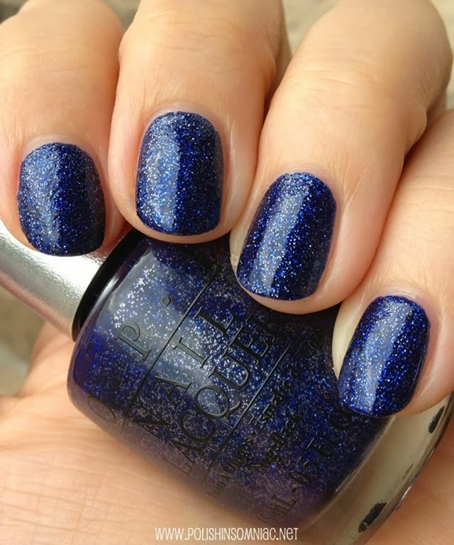 OPI DS Lapis with top coat