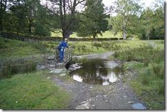Hill Top walk Mr. M by puddle bridge