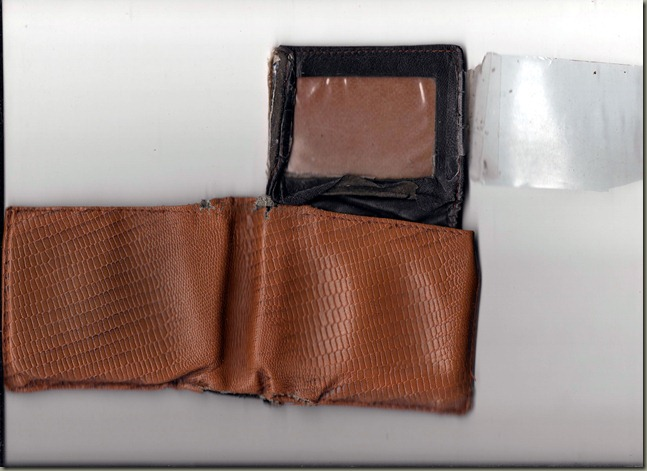 Old Wallet Exterior