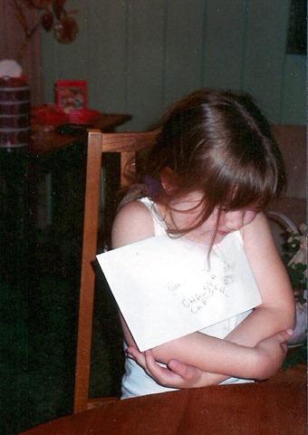 Chelsea writes her name 2
