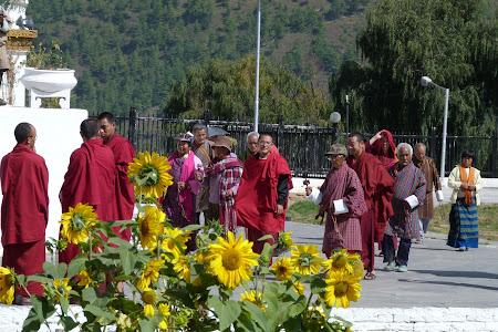 Calugari budisti
