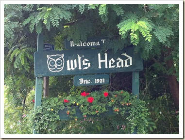 owl's head sign
